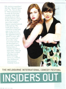 Insiders Out - Ha Magazine - Page 1 2006